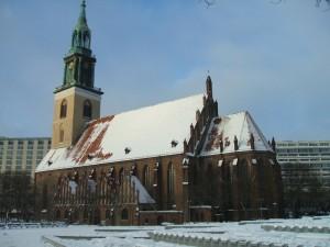 Die Berliner Marienkirche