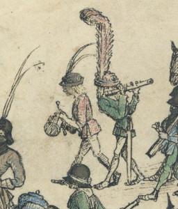 Trommler, Hausbuch Wolfegg