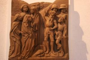 Schnitzerei aus dem Hochaltar der Marienkirche 1470