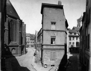 Berliner Nikolaiviertel 1880