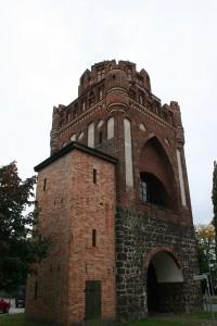 Ens der Stendaler Torhäuser in denen sich die Stadttore befanden