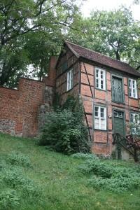 Ein Wiekhaus in der ehemaligen Stadtmauer von Stendal